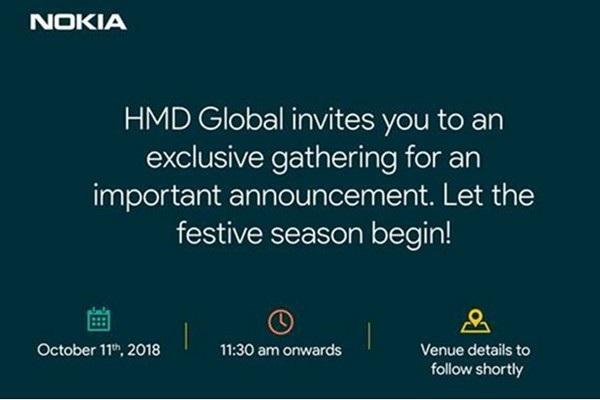 Thư mời tham dự sự kiện đặc biệt ngày 11/10 của HMD Global