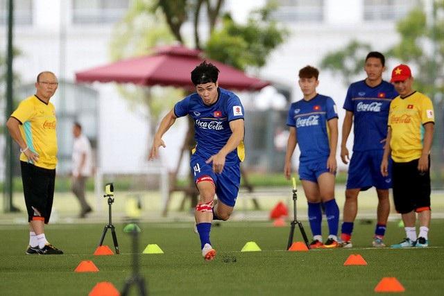 HLV Park Hang Seo chờ đợi nhiều vào phong độ của Công Phượng tại AFF Cup 2018