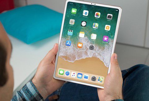 """iPad Pro sẽ sở hữu viền màn hình siêu mỏng, nhưng không có """"tai thỏ"""" như trên iPhone?"""