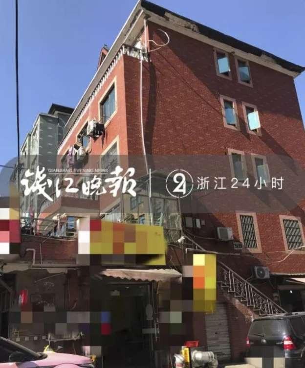 Gia đình bà lão này sống ở một ngôi nhà 5 tầng và còn kiếm thêm tiền bằng cách cho thuê tầng một. (Nguồn: Weixin.qq.com)