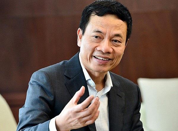 Bộ trưởng Bộ TT&TT Nguyễn Mạnh Hùng