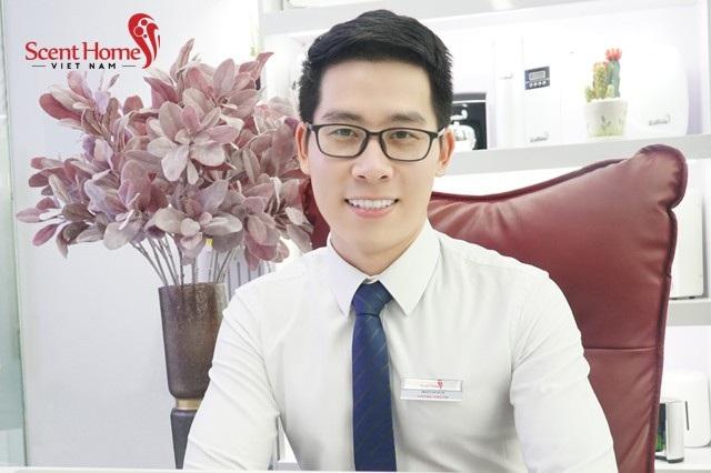 Ông Trần Văn Xuân – Giám đốc sáng lập Công ty TNHH Scent Homes Việt Nam