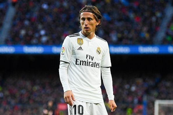 Luka Modric không còn thi đấu tự tin như những gì anh đã thể hiện ở World Cup 2018