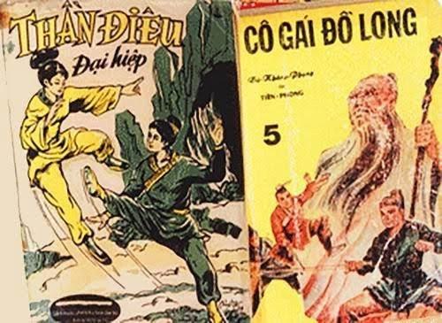 Càng bị cấm, người ta lại càng tìm đọc truyện chưởng của Kim Dung.