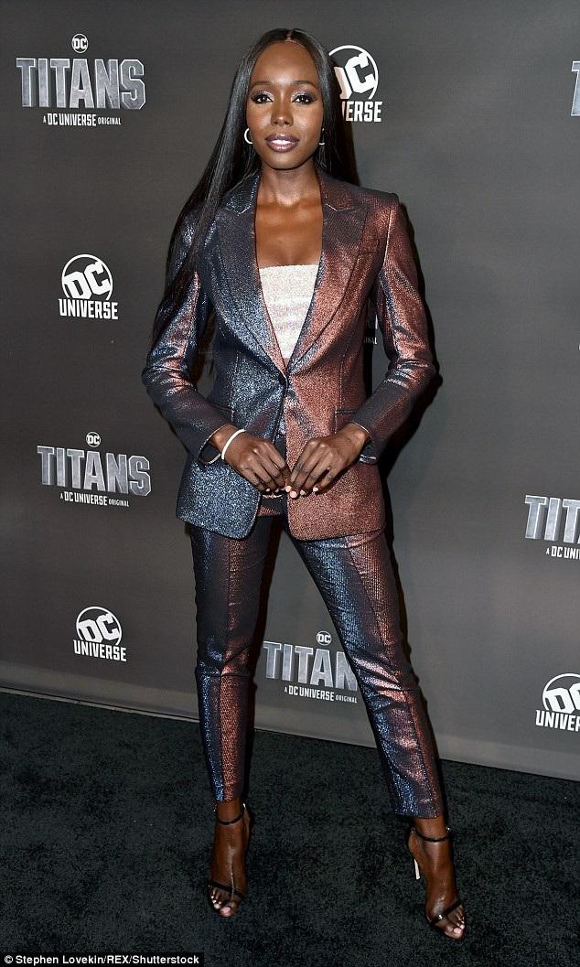 Cùng dự sự kiện còn có nữ diễn viên Anna Diop