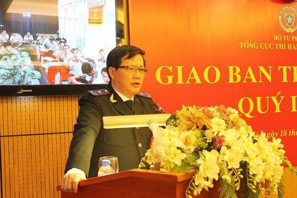 Tân Tổng cục trưởng Tổng cục Thi hành án dân sự Mai Lương Khôi.