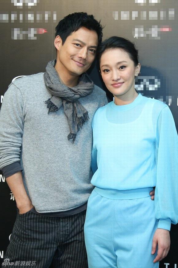 Châu Tấn và chồng - Cao Thánh Viễn kết hôn từ năm 2014.