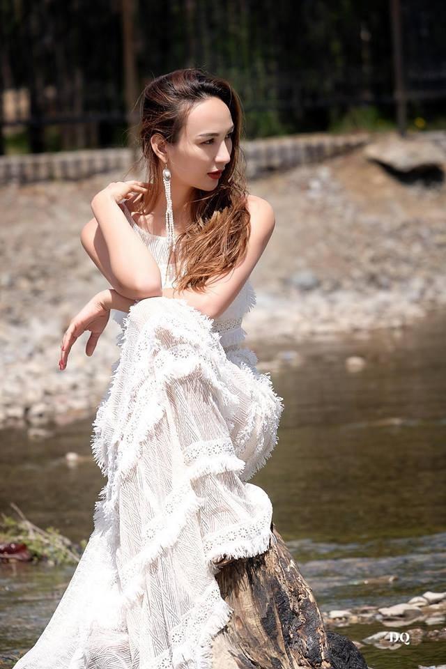 Ngọc Diễm đăng quang Hoa hậu Du lịch Việt Nam 2008. 10 năm sau ngày lên ngôi Hoa hậu, cô vẫn giữ được hình ảnh thanh lịch, văn minh trong mắt công chúng.