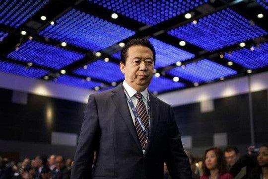 Chủ tịch Interpol Meng Hongwei, 64 tuổi. Ảnh: AP