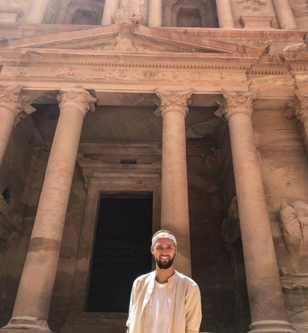 Ather tới thăm kỳ quan cuối cùng - thành phố cổ Petra ở Jordan