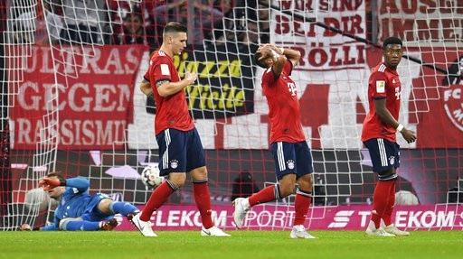 Bayern Munich đang chìm trong khủng hoảng