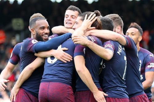 Các cầu thủ Arsenal đã nắm chắc chiến thắng sau bàn thắng thứ ba