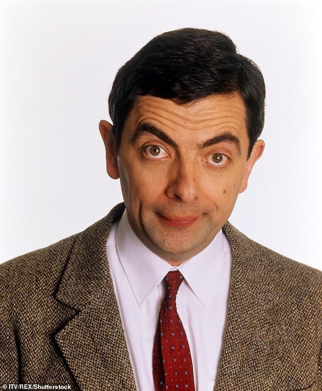 Nam diễn viên người Anh Rowan Atkinson trong tạo hình Mr Bean