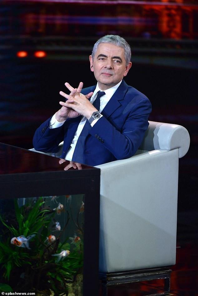 Nam diễn viên người Anh Rowan Atkinson