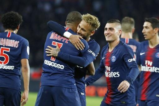 PSG thể hiện sức mạnh hủy diệt với 9 chiến thắng liên tiếp ở Ligue 1 mùa này