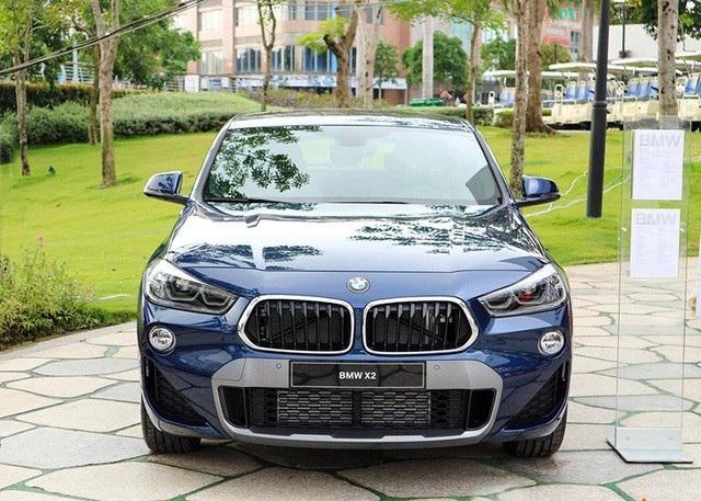 Mẫu BMW X2 hoàn toàn mới đã thông quan và có mặt tại Việt Nam.