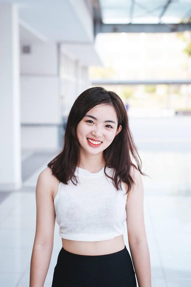 Quỳnh Anh - cô nàng nhóm trưởng tài năng, xinh đẹp, yêu thích cổ động bóng rổ