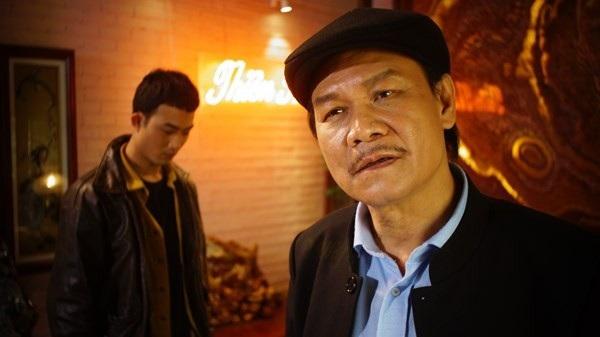 NSƯT Nguyễn Hải vào vai Cấn - động chủ Thiên Thai trong Quỳnh búp bê.