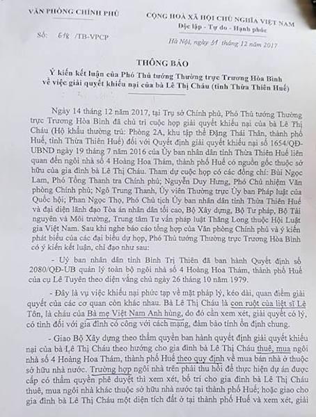 Con gái liệt sỹ gần 40 năm mòn mỏi đi đòi ngôi nhà thơ ấu, tỉnh Thừa Thiên Huế nói gì? - 6