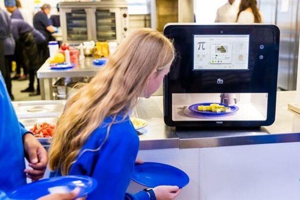 Các bữa ăn được tạo ra nhờ sử dụng máy in 3D - Ảnh từ tổ chức Big Bang Fair.