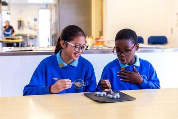 Các nhà khoa học hi vọng các bữa ăn sẽ truyền cảm hứng cho trẻ em theo đuổi các môn học STEM - Ảnh từ tổ chức Big Bang Fair.