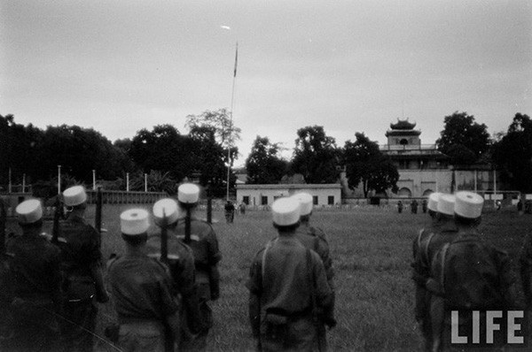 Nghi lễ này là một biểu tượng đánh dấu chấm hết cho sự hiện diện của quân Pháp ở Hà Nội.