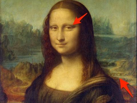 """Bức tranh quen thuộc nhất thế giới - """"Mona Lisa"""" - cũng ẩn chứa bí mật."""