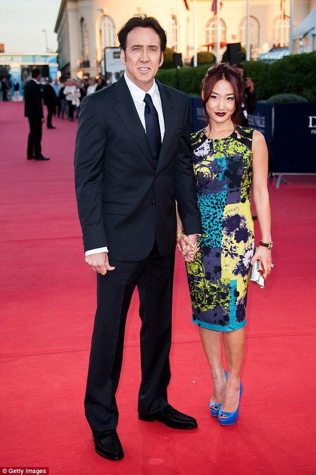 Tài tử Nicolas Cage và Alice Kim