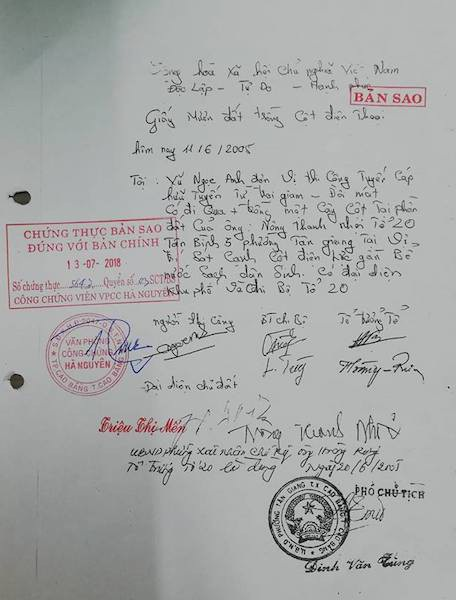 Đòi quyền sử dụng đất, người dân khởi kiện UBND TP Cao Bằng ra toà - Ảnh 3.