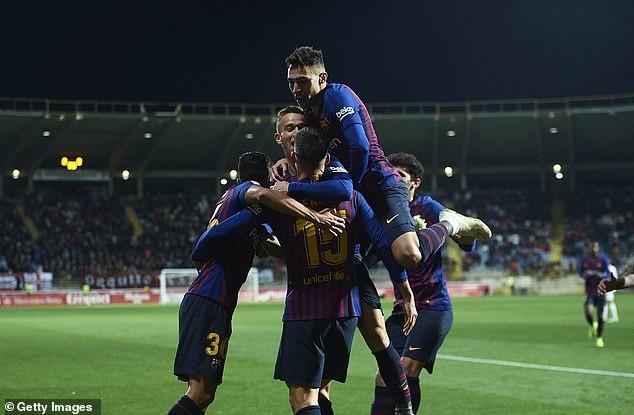 Barcelona tiếp tục duy trì được mạch thăng hoa sau chiến thắng trước Real Madrid ở Siêu kinh điển