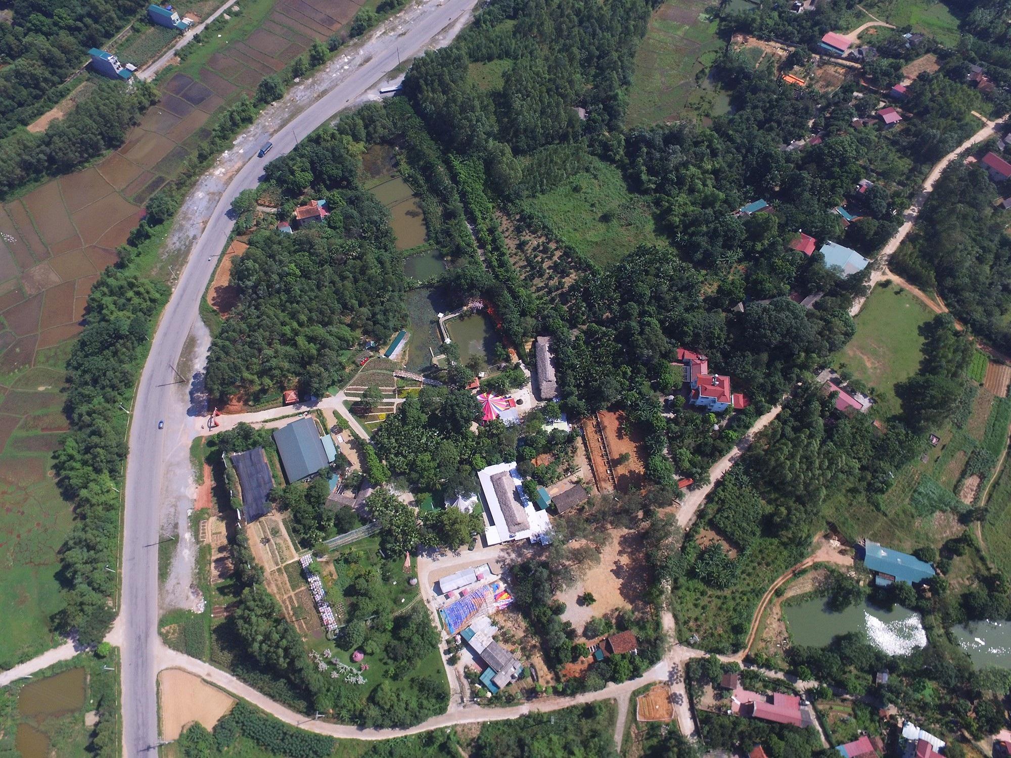 Hình ảnh công trình xây dựng trái phép trong Khu di tích Đền Hùng - Ảnh 24.
