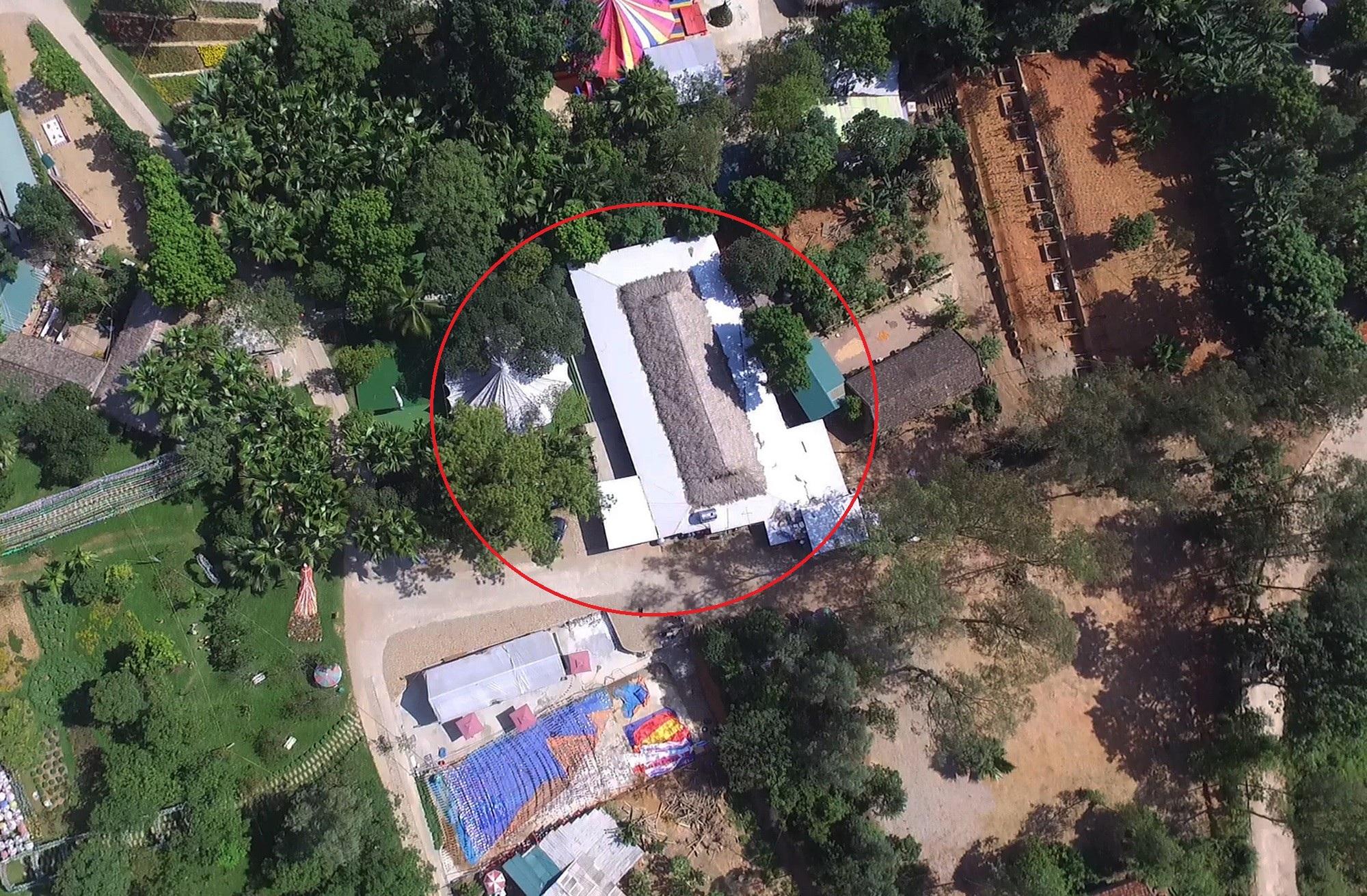 Hình ảnh công trình xây dựng trái phép trong Khu di tích Đền Hùng - Ảnh 5.