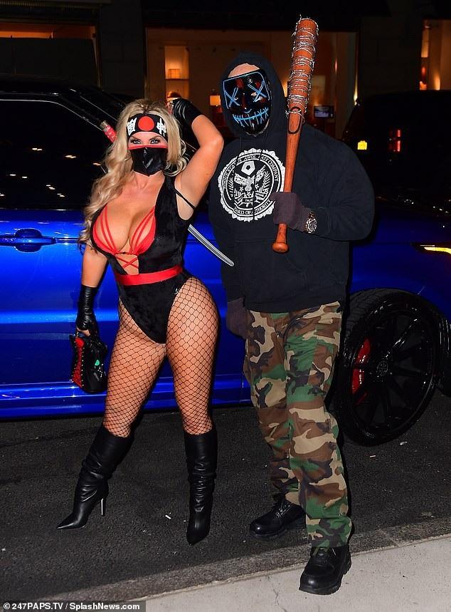 Coco Austin và chồng Ice T