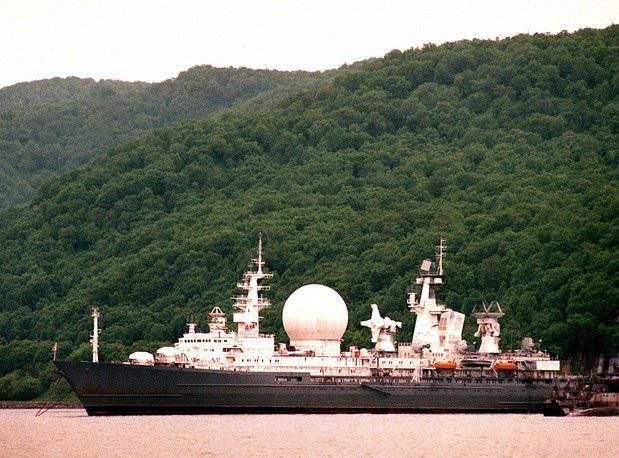 Marshal Krylov là tàu do thám được trang bị ăng ten và hệ thống điện tử để hỗ trợ cho việc phóng và theo dõi tên lửa, rocket.