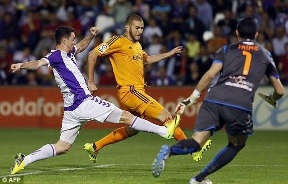 Benzema và đồng đội cần 3 điểm trước Valladolid để hồi sinh tại La Liga