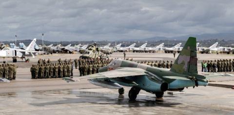 Một căn cứ quân sự của không quân Nga tại Syria