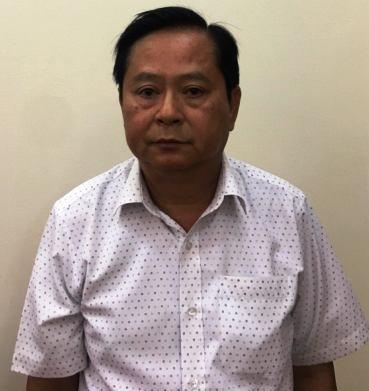 Bị can Nguyễn Hữu Tín.