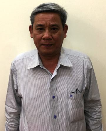 Bị can Lê Văn Thanh.