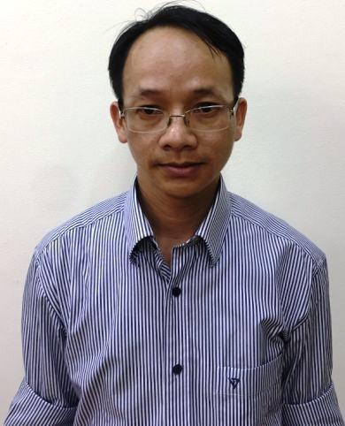Bị can Nguyễn Thanh Chương.