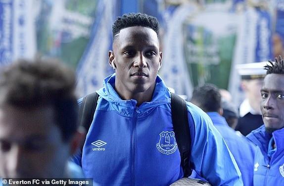 Mina, hậu vệ của Everton lần đầu tiên tham dự một trận đấu Premier League