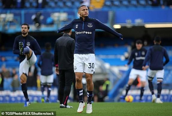 Richarlison, ngôi sao sáng nhất trên hàng công Everton