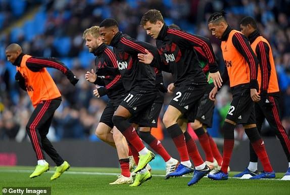 Các cầu thủ Manchester United