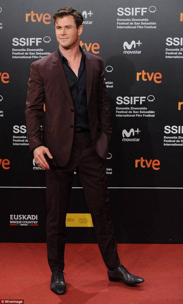 """Tài tử """"Thần Sấm Thor"""" Chris Hemsworth (35 tuổi)"""