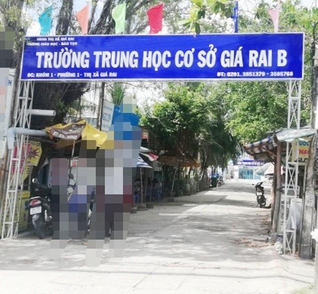 Hiệu trưởng Trường THCS Giá Rai B (thị xã Giá Rai, tỉnh Bạc Liêu) được xác định đã thực hiện chưa đúng một số quy định.