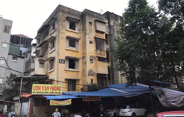 Hà Nội chuẩn bị giải phóng mặt bằng toàn bộ chung cư ở số 93 Láng Hạ