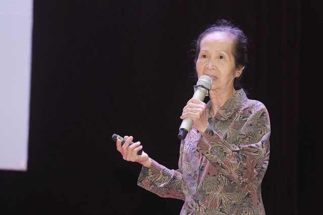 Chuyên gia kinh tế Phạm Chi Lan. (Ảnh: I.T)