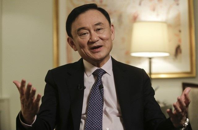Cựu Thủ tướng Thái Lan Thaksin Shinawatra tin tưởng lực lượng dân túy do đảng Pheu Thai dẫn đầu có thể chiến thắng áp đảo trong cuộc bầu cử năm tới. (Ảnh: Reuters)