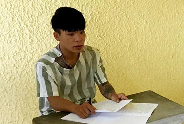 Đối tượng Phan Chí Trung tại cơ quan điều tra