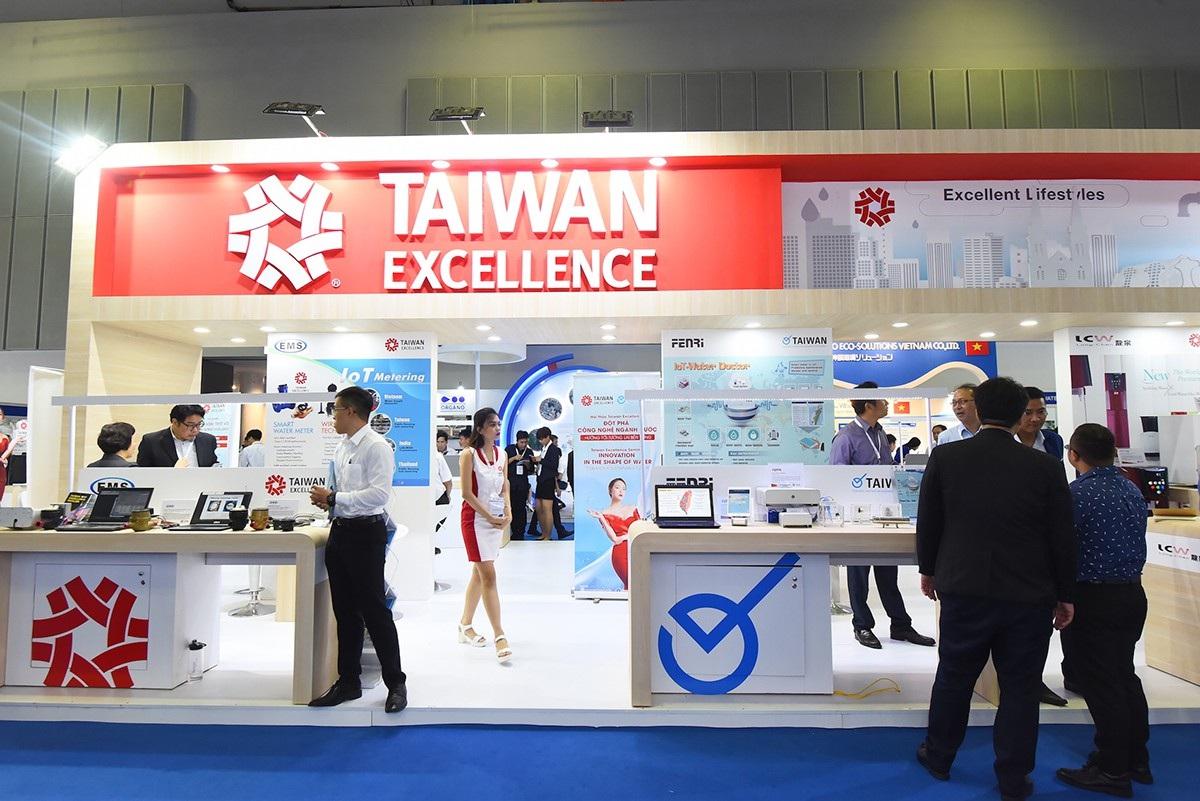 không gian trải nghiệm taiwan excellence tại vietwater 2018_1