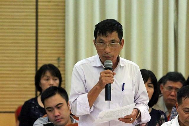 Cử tri Trần Ngọc Toán truy trách nhiệm các đơn vị TP Hà Nội trong vấn đề quản lý đất rừng ở Sóc Sơn